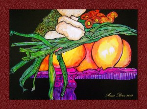 From the Fruit 'n Veg Series. 2008